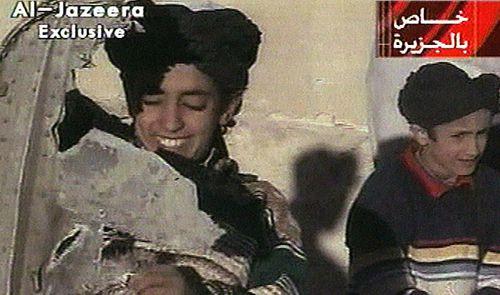 Hazma Bin Laden in a photo from 2001. (Photo: AP).