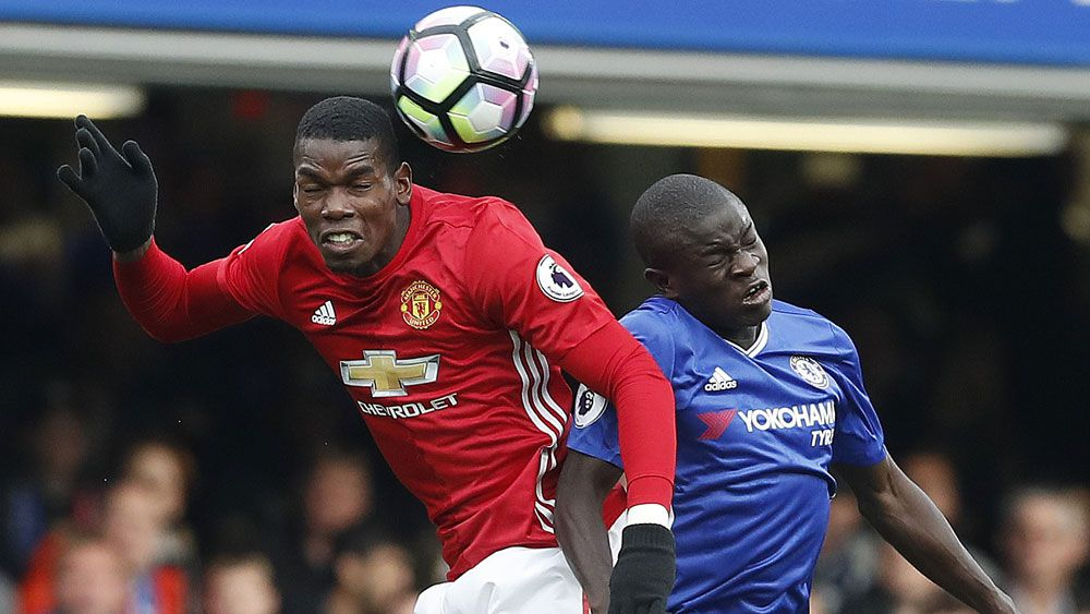 Kante shows Pogba how it's done with superb goal