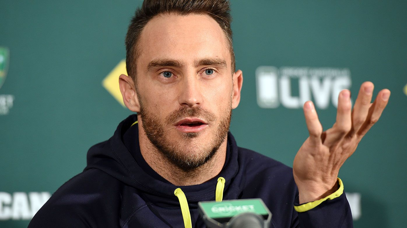 Faf Du Plessis ready for hot Australia welcome