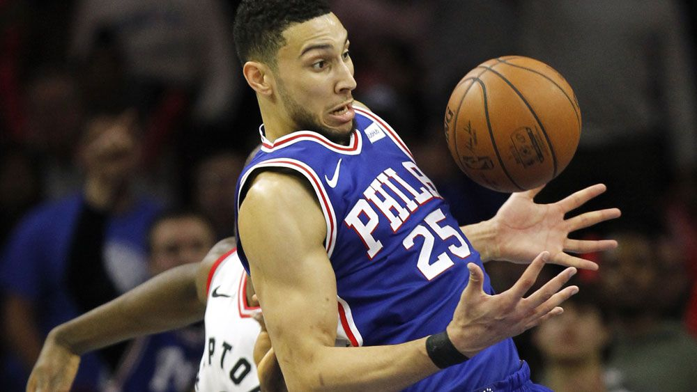Aussie NBA star Ben Simmons tells Philadelphia 76ers' fans not to panic after latest loss