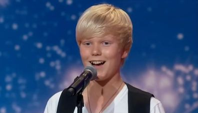 Jack Vidgen singing on Australia's Got Talent