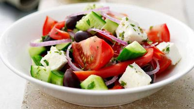 <strong>Greek fetta salad</strong>