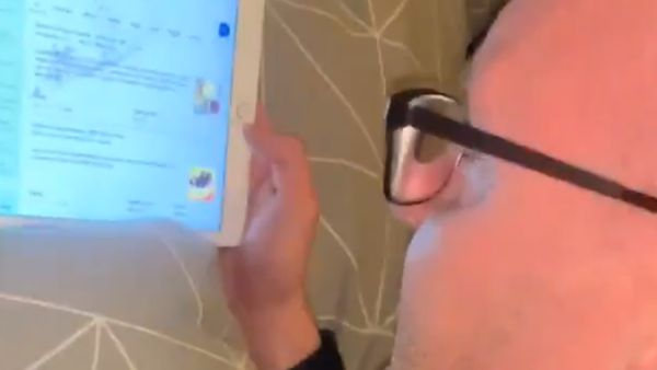 Dad loses it over 8-year-old's iPad search history