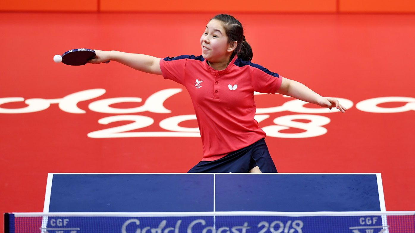 Welsh 11-year-old wins first Games match