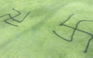 Cranbourne golf course vandalised in 'sickening' anti-Semitic attack