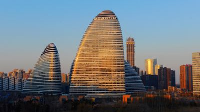 The Wangjing Soho in Beijing, China.
