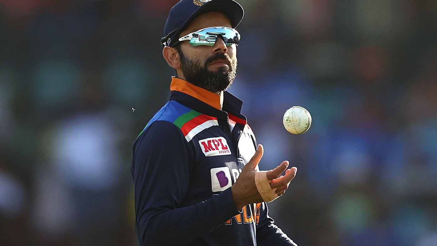 Indian skipper Virat Kohli. (Getty)