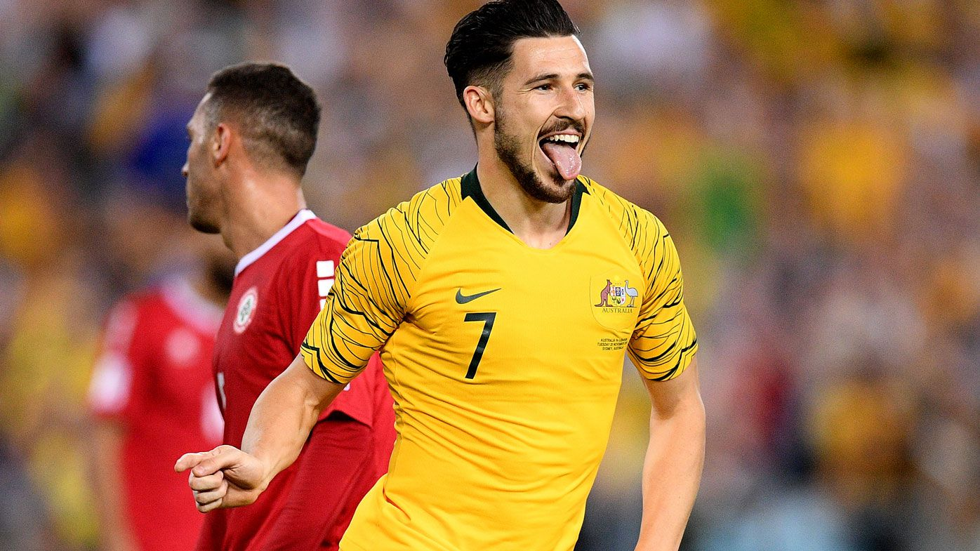 Socceroos cop Mathew Leckie injury blow ahead of Asian Cup