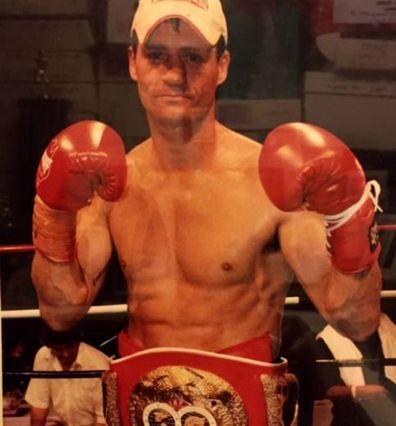 Jason De Lisle during his successful fighting career.