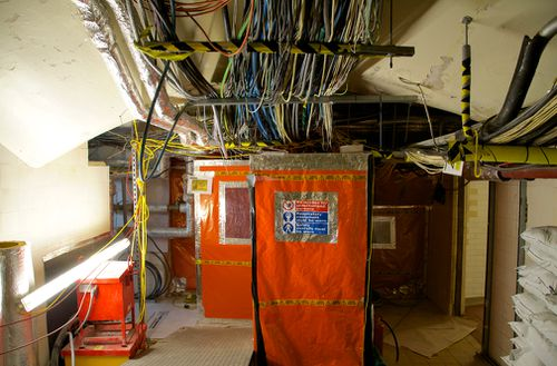 One of the biggest problems affecting the repair and maintenance of the Palace is the existence of asbestos throughout the building. Picture: UK Parliament