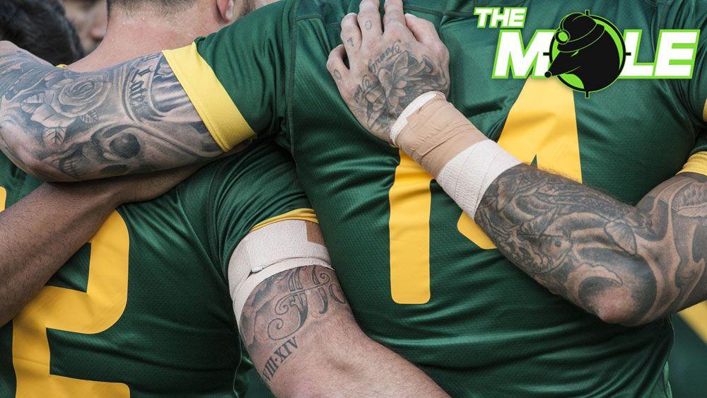Australian rugby league Kangaroos.