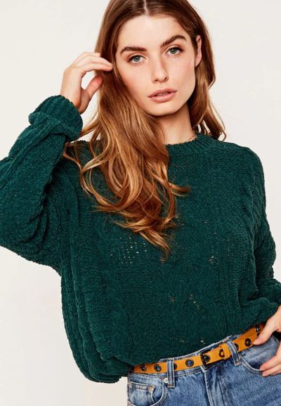 "<a href=""https://www.glassons.com/clothing/knitwear/knit-jumpers/chenille-cable-knit-jumper-KL37272CHE?c=SPROUTED"" target=""_blank"" title=""Glassons Chenille Cable Knit Jumper"">Glassons Chenille Cable Knit Jumper</a>, $49.99"