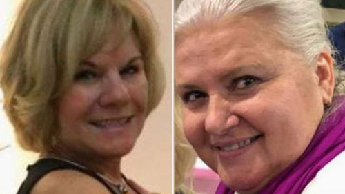Victim Pamela Hutchinson (left) and   Lois Riess (right).