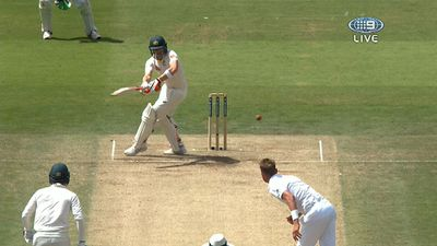 Steve Smith hits to leg side