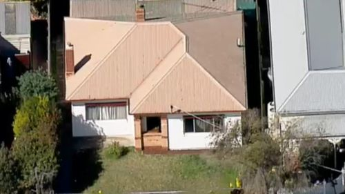 Aerial images show no visible damage to the outside of the property.
