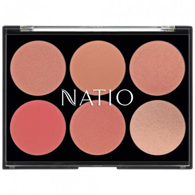 "Don't Blush Baby. Get SAG host Kristen Bell's flushed looks - <a href=""https://www.priceline.com.au/cosmetics/face/blush/natio-luminous-blusher-palette-12-g"" target=""_blank"">NATIO Luminous Blusher Palette 12G, $19.95</a>"
