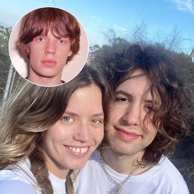 Mick Jagger, Lucas Jagger and Georgia May Jagger