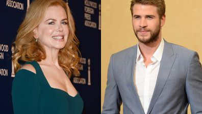 Now this is one red carpet with extreme sex appeal! Aussie stars Nicole Kidman and Liam Hemsworth heated up the star-studded Hollywood Foreign Press Association's 2013 Luncheon on August 13 at the Beverly Hilton in LA. Nicole co-hosted the exclusive industry event with Eva Longoria - view all the pics of the high-glam stars who turned up.