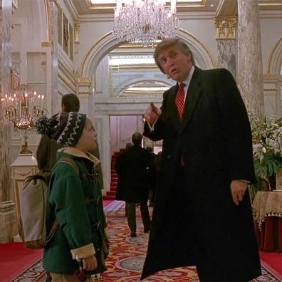 Donald Trump had a brief cameo in Home Alone 2.