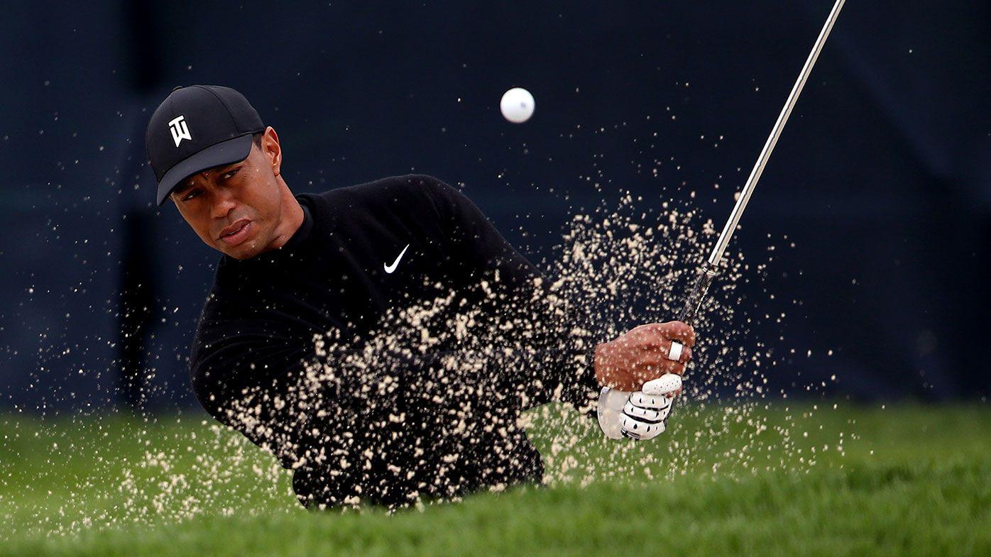 Tiger Woods prepares for this week's US PGA.