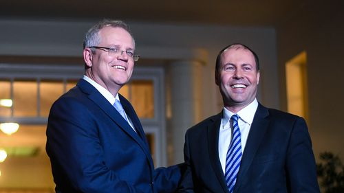 Mr Morrison, who won a leadership ballot against Mr Dutton after Malcolm Turnbull called a spill on Friday, is weighing up forming a ministry to reunite the Liberal party.