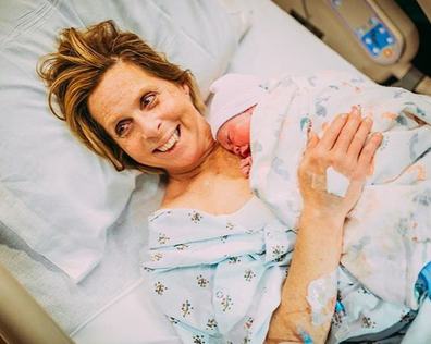 A grandmother has given birth to her granddaughter.