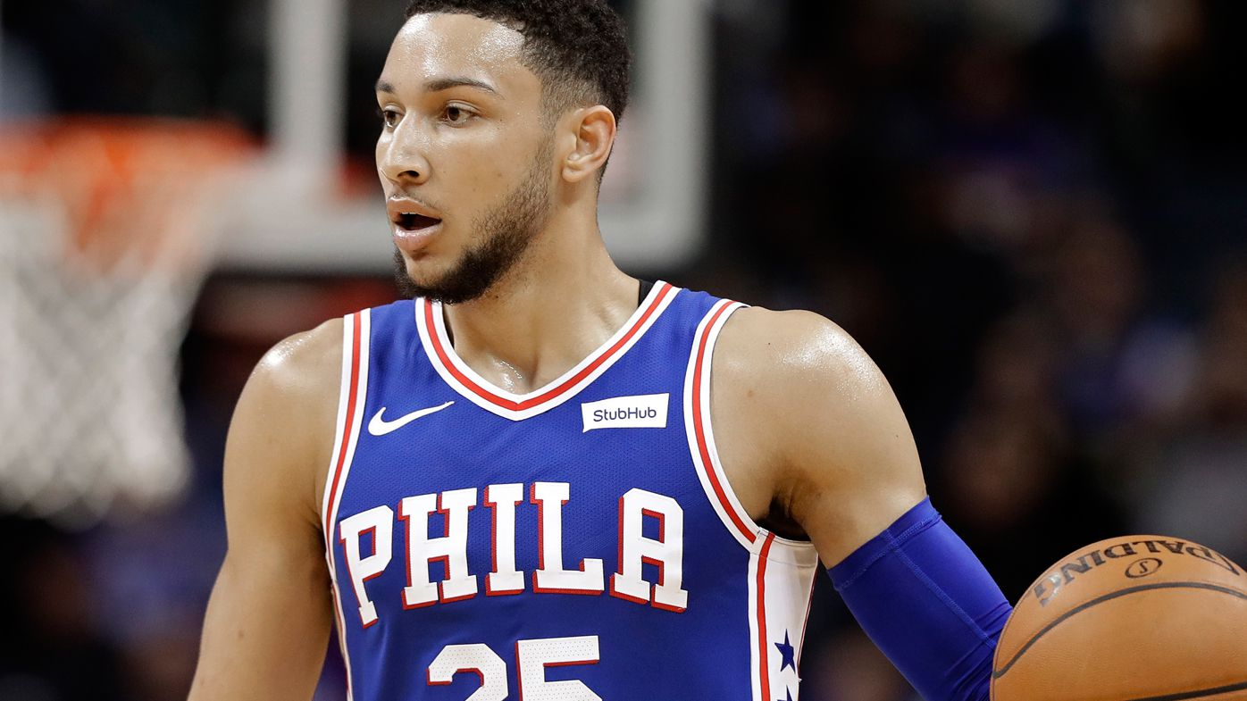 Simmons double-double in 76ers NBA win