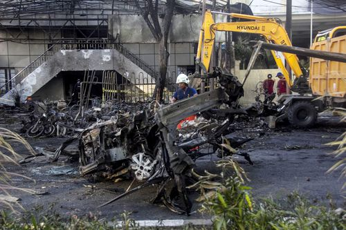 The attacks were carried out by a family of six. (AAP)