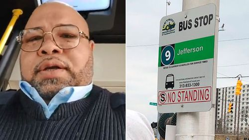 Detroit bus driver Jason Hargrove spoke to the people of Detroit on video complaining of coughing passengers