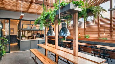 Whistle & Flute, Unley SA - nominated for best cafe design