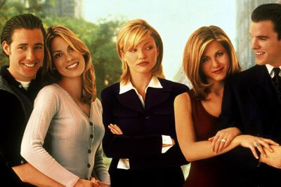 Followed closely by her first role alongside Jennifer Aniston, in rom-com <i>She's the One</i>.<br/><br/>(Image: 20th Century Fox)