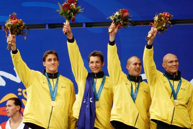 Michael Klim, Sydney Olympics 2000, Chris Fydler, Ian Thorpe, Ashley Callus