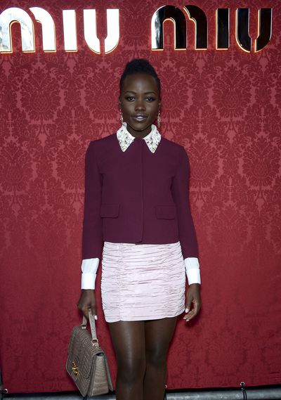 Lupita Nyong'o donated this entire Miu Miu ensemble to the charity sale.