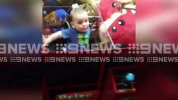 Mum stunned to find her toddler trapped in skill-tester