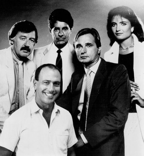 Gerald Stone and the 60 Minutes reporting team.