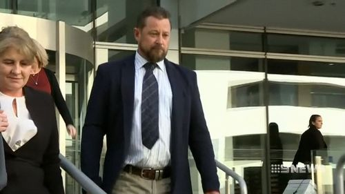 Garry Robinson has avoided jail. (9NEWS)