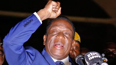 Mnangagwa pledges 'jobs, jobs' for Zimbabwe