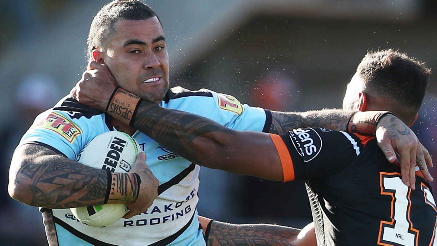 Sharks, Titans address speculation that Andrew Fifita could replace Jai Arrow