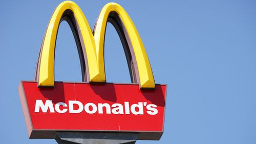 The fast-food giant said the rule at the Maroochydore location is not company policy. (File image)