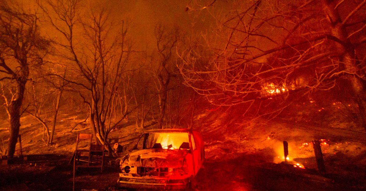 Crews battle wildfires amid brutal heat wave in California – 9News