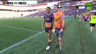 Brisbane Broncos star Jaydn Su'A set to miss bulk of NRL season following broken ankle