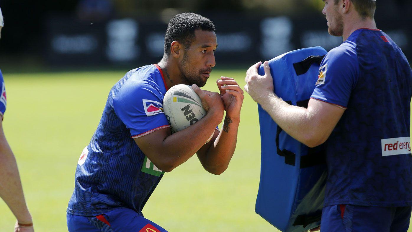 Newcastle star Tautau Moga escapes conviction for driver slap