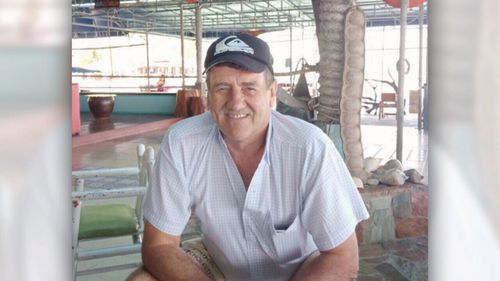 Les Ford was badly injured in Thailand after a motorcycle crash.