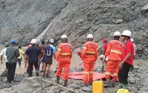 Myanmar mine collapse: At least 162 dead as landslide sinks jade mine