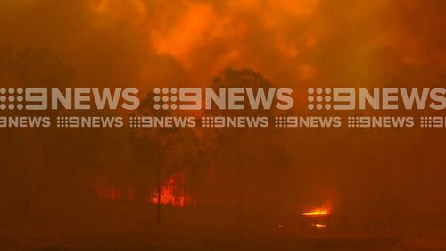 Emergency level fire storm rages through parts of northern NSW.