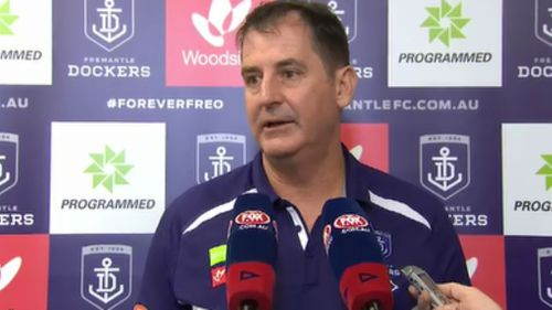 Ross Lyon is accused of making inappropriate comments towards a junior staff member. (9NEWS)