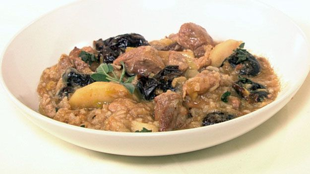 Apples, pork and prunes