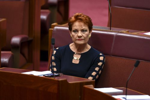 One Nation Leader Pauline Hanson is refusing to comment on the controversial videos posted by candidate Stuart Bonds.
