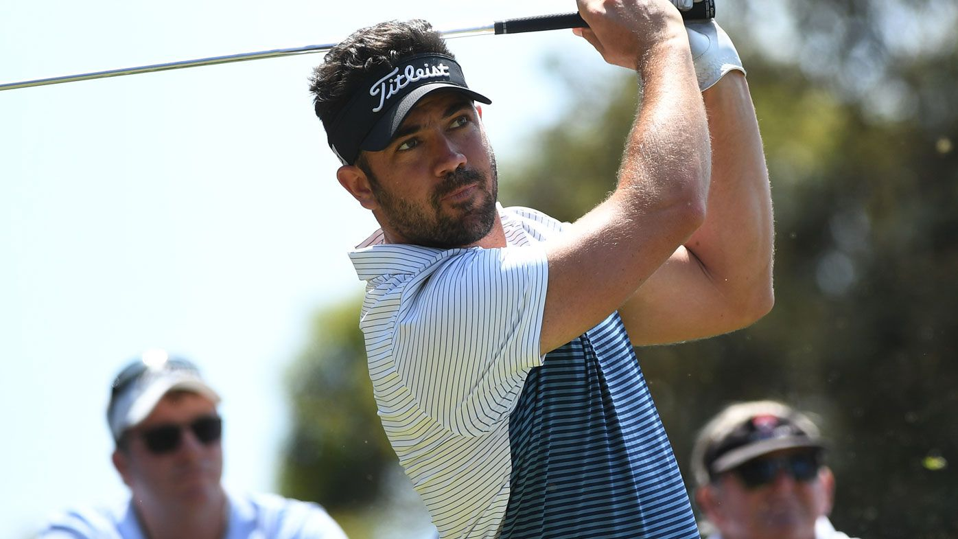 Uber driver Adam Stephens steals show at Australian Open, Korean Byeong Hun An leads ahead of day two