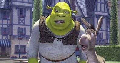 Shrek and Donkey, Lord Farquaad, X-rated scene, Shrek movie